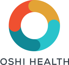 Logo with DARK letters OSHI HEALTH